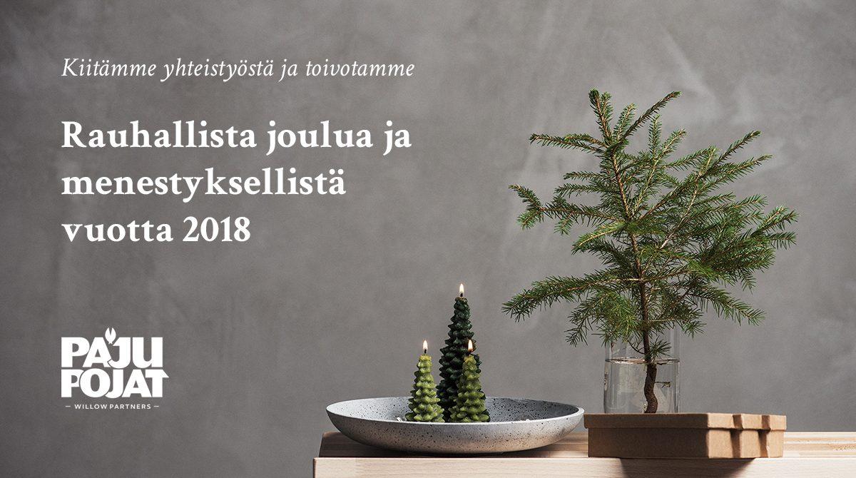 Pajupojat joulutervehdys
