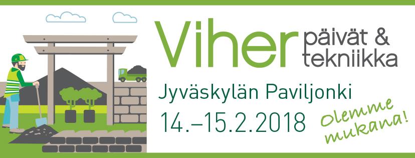 Pajupojat Viherpäivät & Vihertekniikka -tapahtumassa 14.–15.2.