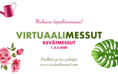 Virtuaalimessut x Kevätmessut 1.–3.5. Katso tarjoukset!